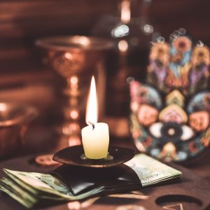 magic, candle, ritual